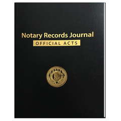 Notary Records Journal - Soft Cover