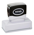 Wyoming Jurat Stamp - Titan