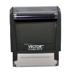 Vector Model 4913 Texas Notary Stamp